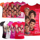 One Direction Girls Love Top New T-Shirts Kids Short Sleeve 1d Age 7 - 13 years