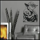 LARGE YODA STARWARS WALL ART STICKER CUT MATT VINYL TRANSFER