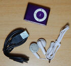 Mini Clip MP3 Music Player LCD Screen Support  TF Card Slot - New