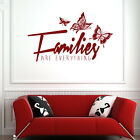 Families Are Everything Wall Sticker Family Quote Wall Decal Art