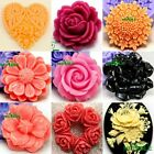 1-Cavity Flower silicone mold for fimo resin polymer clay fondant cake chocolate