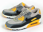 Nike Air Max 90 Essential Running Pale Grey/Black-Anthracite-Orange 537384-008