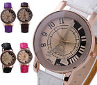 41mm IBELI Womens Girl's Analog Eiffel Tower Quartz Wrist Watch,PU Band