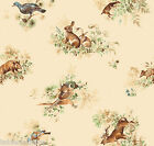 FAUNA VINYL OILCLOTH WIPEABLE PVC WIPE CLEAN TABLE CLOTH CO click for sizes