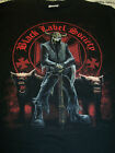 BLACK LABEL SOCIETY REAPER WOLVES DOUBLE SIDED PRINT T-SHIRT NEW !