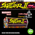 Arcade Marquee Stickers / Laminated All Sizes All Designs Street fighter + More
