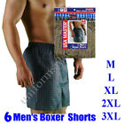 Mens 6 pairs Boxer Shorts plaid Underwear Boxers Underclothing S or 3XL