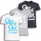 New Gio-Goi Mens Cotton T-Shirt Short Sleeve Top Crew Neck Top Tee Size S - XL