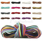 Faux Suede Cord 1m 3x1.5mm String Linen Thread Wire Jewelry Bracelet DIY Making