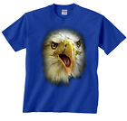 Eagle T-Shirt Bald Eagle Face Profile Shirt Animals Tee Pet Birds