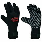 QUALITY Neoprene DIVE Gloves 5mm - Glued & Stitched - Scuba Dive Kayak Surf Sail