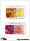 4pcs Rose Flower Scented With SPA Bath Soap Petals From Natural Ingredients YW