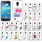 For Samsung Galaxy S4 mini I9190 Cross Snap On HARD Case Cover Accessory
