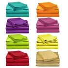 Microfiber Sheet Sets: Twin or Full Size, Bright Vivid Colors image