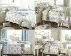 Shelly Floral Duvet Cover Quilt Bedding Set Or Curtains Bedspread