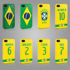 BRAZIL WORLD CUP FOOTBALL 2014 SOCCER CASE HARD COVER FOR iPHONE OR SAMSUNG