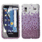 For Samsung Captivate Glide i927 Kiss Me Crystal Bling Hard Case Cover Accessory