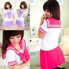 Japanese Student Adult School Uniform Dress Anime Cosplay Sailor Costume Girl