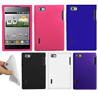 For LG Intuition Optimus Vu VS950 Color SILICONE Soft Gel Skin Rubber Case Cover