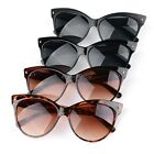 Fashion Women Retro Vintage Shades Oversized Designer Cat Eye Sunglasses New