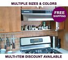 "30""/36""/42"" x 2""/3.5""/5"" ultraLEDGE Over-the-Range Shelf/Spice Rack; multicolors"
