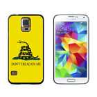 Gadsden Flag Don't Tread On Me - Hard Protective Case for Samsung Galaxy S5