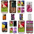For LG Optimus L70 / Exceed 2 - Hard Plastic Snap On Design Phone Cover Case