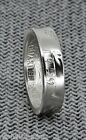 1950-1959 90 Silver Proof US Quarter Coin Ring Wedding Band Birthday Gift