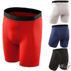 Mens Sport Compression Wear Under Base Layer GYM Shorts Pants Tight Legging