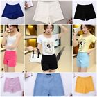 8 Colour Womens Casual Pretty Candy Colour High Waist Shorts Pants Pencil Tights
