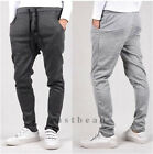 Mens Casual Harem Dance Sports Sweat Pants Gym Baggy Jogging Trousers Slacks