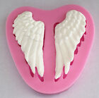 Angle Wing silicone mold for fimo resin polymer clay fondant cake chocolate 080