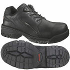Wolverine Work shoes Men Falcon Safety Composite-Toe Oxford W02373 Black Leather