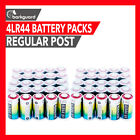 NEW L1325 4LR44 BARKGUARD BATTERIES 6V CITRONELLA BARK BARKING DOG SPRAY COLLAR