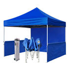 Premium Canopy Gazebo 10x10 Ez Pop Up Fair Trade Show Booth Market Shade Tent