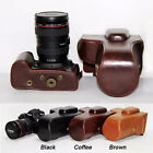 Leather Camera Case Bag for Canon EOS 5D Mark III II 5D3 5D2 With 24-105mm Lens