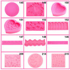 Silicone Mould Mold Ice Cube Chocolate Cake Cupcake Muffin Soap Candy Mold DIY B