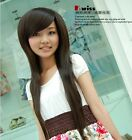 New style Fashion Long Cosplay Women's Girl Hair Full Wig Hot Selling