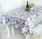 New European Style #3PVC Waterproof Oilproof Dinner Table Tea Table Cloth