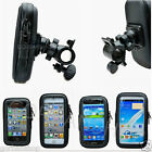 Bike Bicycle Mount Holder Stand Waterproof Phone Case Cover Bag Pouch Handlebar