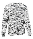 Badger 4184 Tshirt Men's Long Sleeve Sublimated Simple