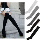 New Ladies Over The Knee Thigh High Womens Stretch Girls Socks Sizes one size
