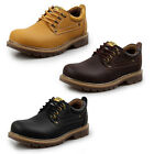 Men's Ankle Lace Up Leather Slip On Loafer Leisure Boy Driving Casual Shoes