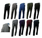Ladies Half elasticated trousers with pockets plus sizes