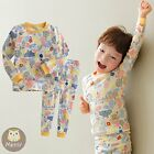 "[Korea] 2pcs Baby Infant Toddler Kid Girl Clothes Sleepwear Pajama""Mystery City"""