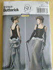 Butterick Sewing pattern B5969 Corset & skirt,  Steam punk / Gothic / Victorian