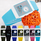 COOL UK Silicone Band Two Movement Digital LED  Men's Boy's Gift Sport Watch NEW