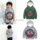 Children's Fleece Hooded Sweater Coat 68 Thick Cotton Cashmere Long Sleeve 35DI