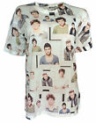 T Shirt Top Women's Ladies Girls Licensed One Direction 1D in Size's  6 - 20 NEW
