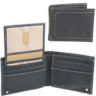 Carhartt Wallet Mens Pebble Passcase Genuine Leather Bifold Billfold